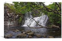 Waterfall on West Coast Scotalnd