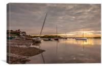 Burnham Sunset, Canvas Print