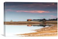 Wells Beach Norfolk, Canvas Print