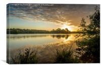 Norfolk Sunrise, Canvas Print
