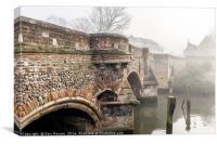 Bridge Arches, Canvas Print