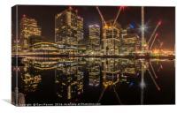 Canary Wharf London, Canvas Print