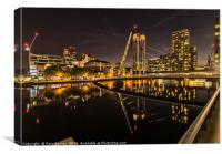Dockland Buildings, Canvas Print