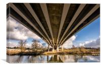 River Yare Crossing, Canvas Print