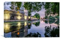 Evening Twilight Little Venice, Canvas Print