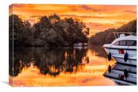 Amazing Sunrise, Canvas Print