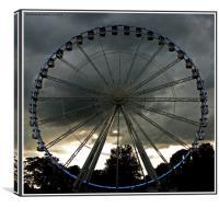 The Windsor Wheel, Canvas Print