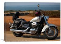 The Honda Shadow, Canvas Print