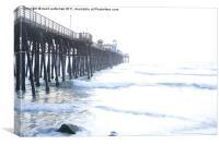 Oceanside Pier, Canvas Print