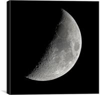 La Luna, Canvas Print