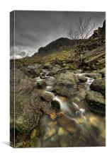 Pen Y Pass, Canvas Print