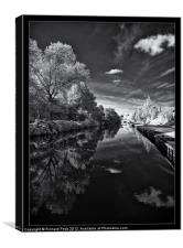Rotherham Canal, Canvas Print