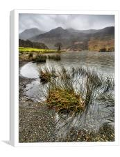 Wet Day in the Lakes, Canvas Print