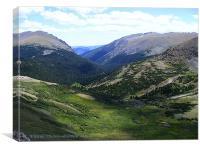 A Rocky Mountain Summer, Canvas Print