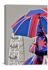 Jubilee Year in London., Canvas Print