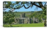 Margam Castle., Canvas Print