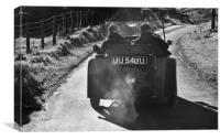 Sunday Drivers!!, Canvas Print
