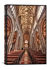 St Mary Redcliff, Bristol., Canvas Print