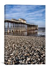 Penarth Pier., Canvas Print