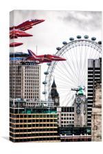 Nostalgic Britain., Canvas Print