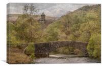 Elan Valley. , Canvas Print