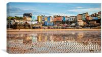 Day out at the Seaside., Canvas Print