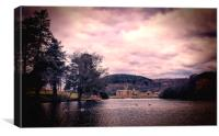 Margam Castle & Grounds., Canvas Print