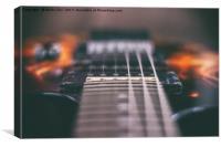 Ibanez Guitar 2, Canvas Print