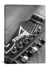 Ibanez Guitar 3, Canvas Print