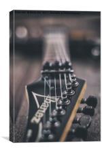 Ibanez Guitar 4, Canvas Print