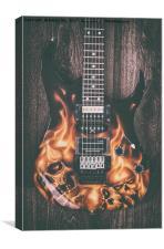 Ibanez Guitar 5, Canvas Print