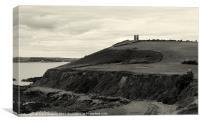 Tower beach, Canvas Print