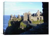 Dunluce Castle Co.Antrim, Canvas Print