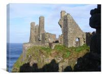 Dunluce Castle,Antrim coast., Canvas Print