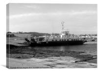 Strangford/portaferry Ferry, Canvas Print