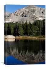 Brainard Lake Reflections, Canvas Print