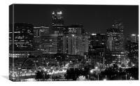 Denver Downtown, Canvas Print