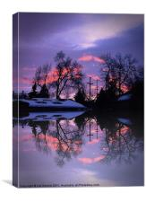 Reflections Of A Sunrise, Canvas Print