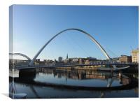 No fog on the tyne, Canvas Print