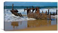Shipwreck, Canvas Print