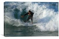 Surfer, Canvas Print