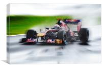 Torro Rosso Formula 1, Canvas Print