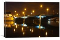 Trent Bridge Nottingham, Canvas Print