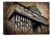 Stokesay Castle, Canvas Print