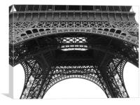 Eiffel Tower Architectural Detail