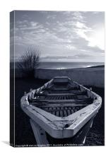 The old boat, Canvas Print