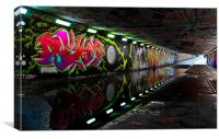 Pottergate Subway In Drought, Canvas Print