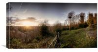 Ketts Heights, Norwich, Canvas Print