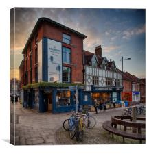 St Andrews Brew House, Norwich, Canvas Print