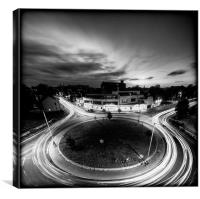 Revolution in a Roundabout Way, Canvas Print